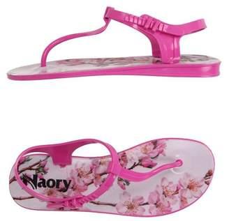 Naory Toe post sandal