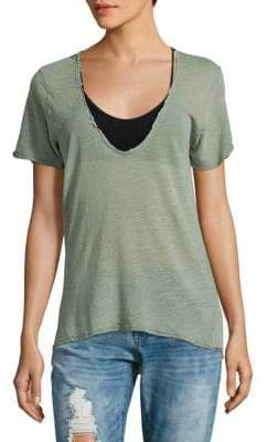 Free People Saturday Short-Sleeve Tee