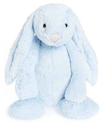 Infant Jellycat 'Bashful Blue Bunny' Stuffed Animal $26 thestylecure.com