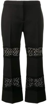 petal print trousers - Black Alexander McQueen fpHpU