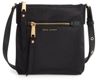 Marc Jacobs Trooper Nylon Crossbody Bag - Black $195 thestylecure.com