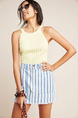 BB Dakota Bathsheba Striped Mini Skirt