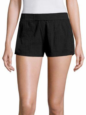 Joie Soft Joie Zaina Cotton Shorts $128 thestylecure.com
