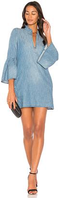 BLANKNYC Bell Sleeve Mini Dress $88 thestylecure.com