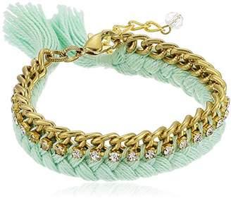 Shashi Bianca Light Turq Bracelet