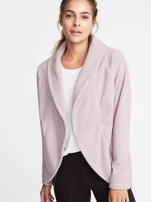 Old Navy Micro Performance Fleece Cocoon Wrap Jacket for Women