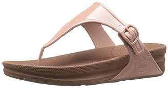 FitFlop Women's Superjelly Rubber Flip Flops Jelly Sandal $58.95 thestylecure.com