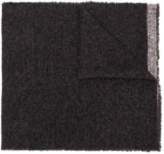 Destin Bord knitted scarf