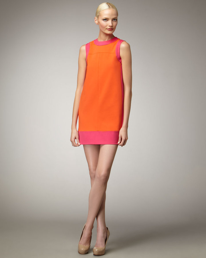 M. Missoni Scuba Colorblock Dress