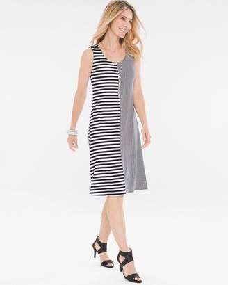 Mixed-Stripe Dress