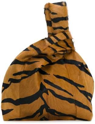 Simonetta Ravizza Furrissima tiger tote bag