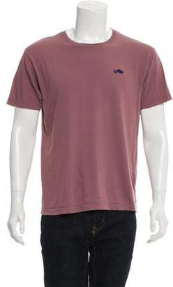 Marc Jacobs Woven Crew Neck T-Shirt