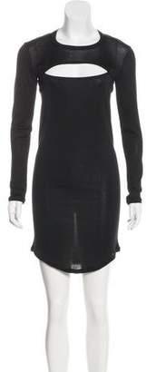 Isabel Marant Silk Cutout Dress
