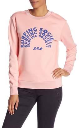 Scotch & Soda Surfing Society Graphic Sweatshirt