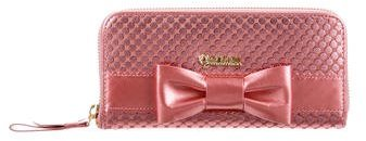 Anna Sui Anna Sui Leather Bow Wallet