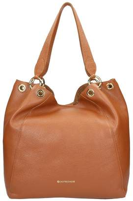 L'Autre Chose Brown Calf Leather Bag