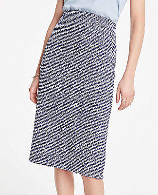 Ann Taylor Boucle Pencil Skirt