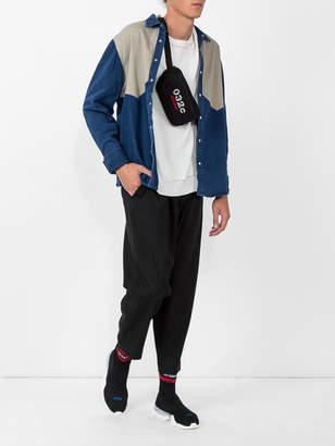 Vetements x reebok sock hi-top knit sneakers