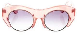 Jonathan Saunders Gradient Alvar Sunglasses w/ Tags