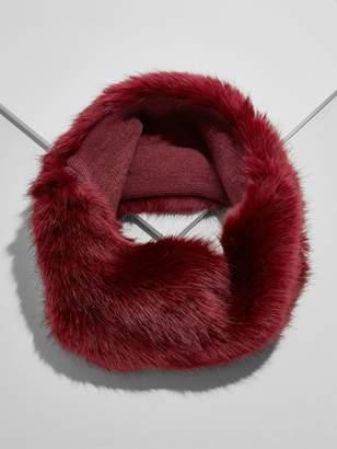 BaubleBar Monroe Faux Fur Neckwarmer