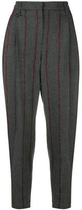Lorena Antoniazzi stripes tapered trousers