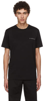 Givenchy Black Sequin Logo T-Shirt
