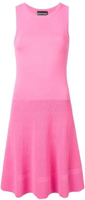 Moschino sleeveless stretch fit dress
