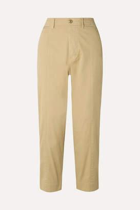 Alex Mill Cotton-blend Twill Tapered Pants - Beige