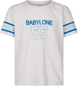 Saint Laurent Babylone Cotton T-Shirt