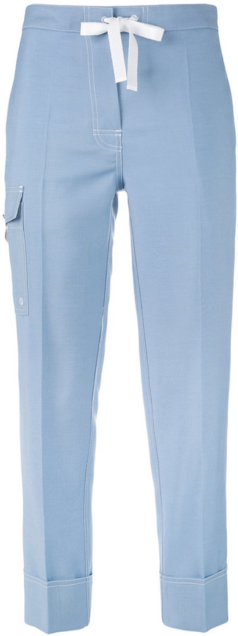 Thom Browne cropped jeans