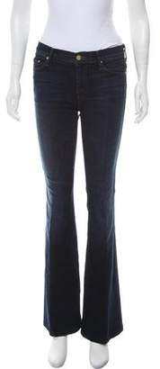 Mother Mid-Rise Flare Jeans