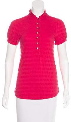 Marc by Marc Jacobs Knit Short Sleeve Top