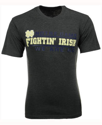Colosseum Men's Notre Dame Fighting Irish Verbiage Stack T-Shirt