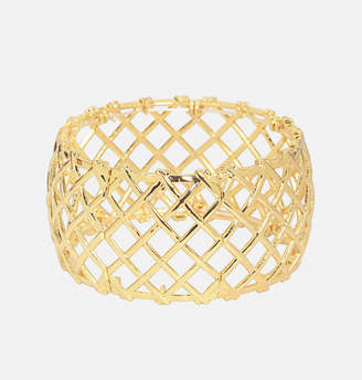 Avenue Gold Lattice Bracelet