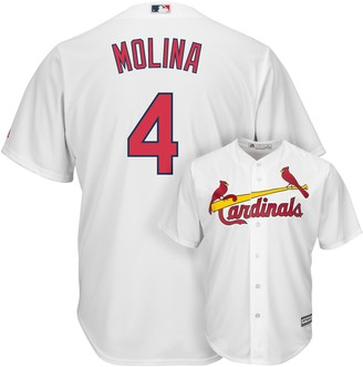Majestic Men's St. Louis Cardinals Yadier Molina Cool Base Replica MLB Jersey