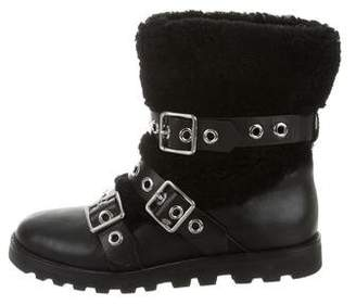 Marc by Marc Jacobs Sheraling Combat Boots