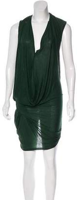 Acne Studios Asymmetrical Midi Dress