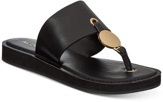 Aldo Yilania Coin Slide Sandals Women Shoes