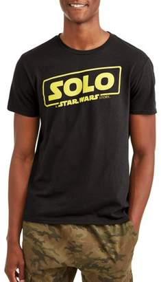 Star Wars Movies & TV Solo Movie Logo Men's Graphic T-shirt
