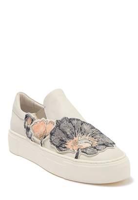 Attilio Giusti Leombruni Sequin Applique Slip-On Platform Sneaker