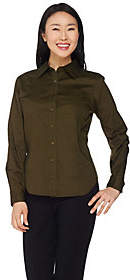 Linea by Louis Dell'Olio Button Front Shirtwith Pocket