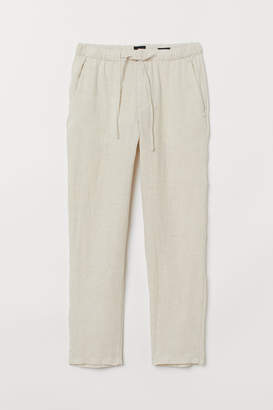 H&M Relaxed Fit Linen-blend Pants