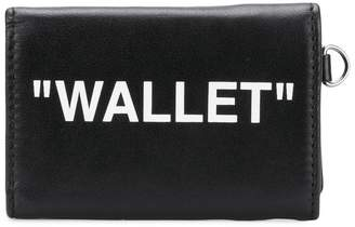 Off-White 3 fold wallet