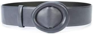 Oscar de la Renta small oval buckle belt