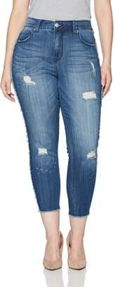 Melissa McCarthy Women's Plus Size Pencil Cut Jean