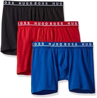 HUGO BOSS Men's Boxer Brief 3p Co/El 10146061 01, New Red/Blue/Black