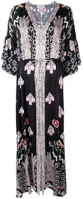 Temperley London Beaumont Flux kaftan dress