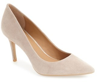Calvin Klein 'Gayle' Pointy Toe Pump (Women) $99.95 thestylecure.com