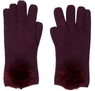 Loro Piana Fur-Trimmed Gloves