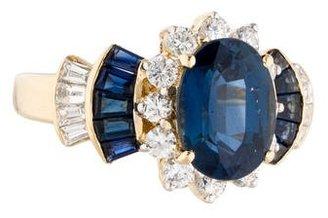 Le Vian 18K Sapphire & Diamond Tiered Ring $3,775 thestylecure.com
